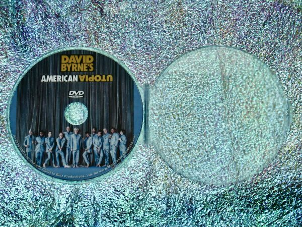 David Byrne's American Utopia DVD (2020 Concert Film Talking Heads) with case