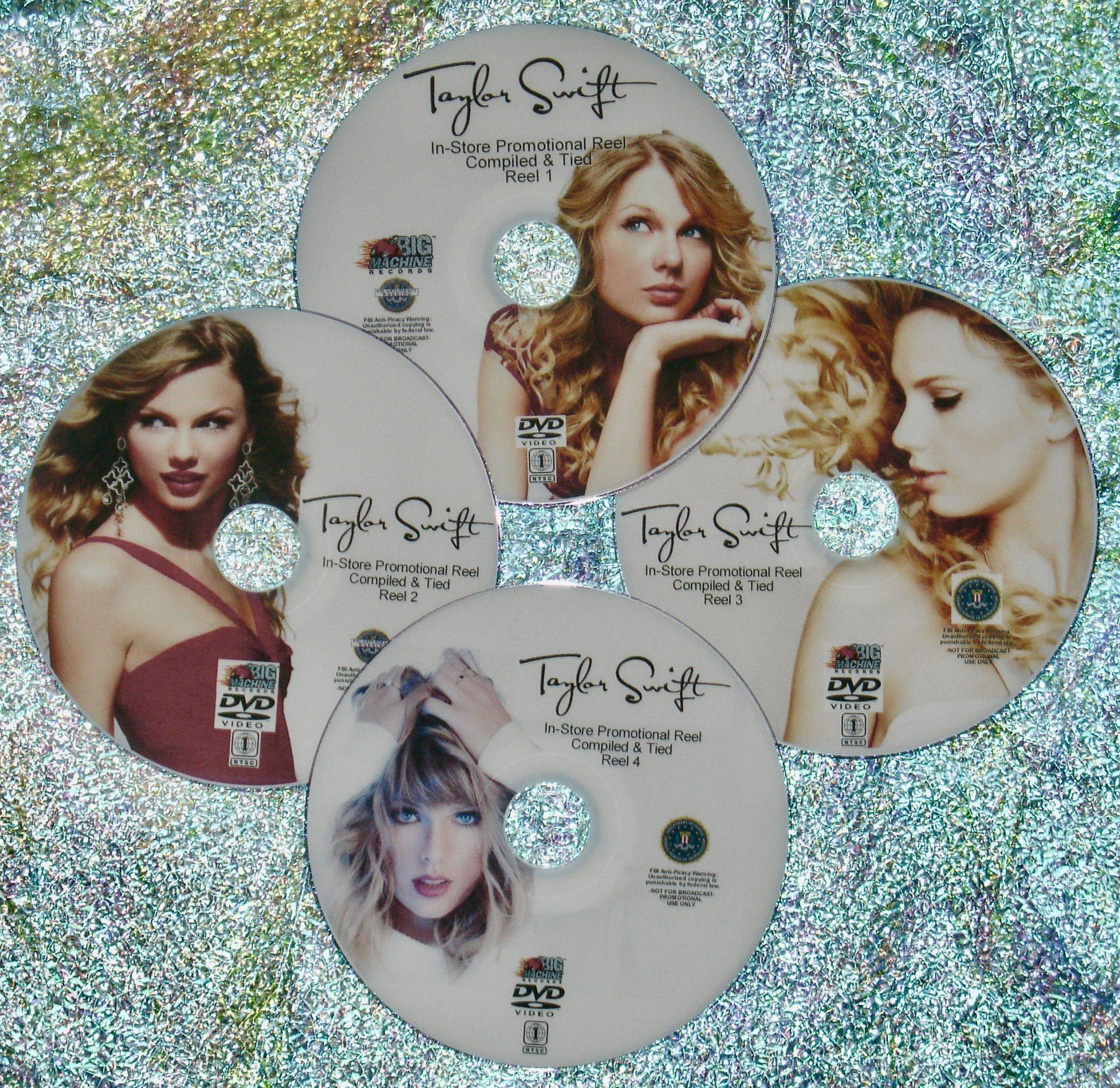 Taylor Swift 2006 2020 In Store Promotional Music Video Reel 4 Dvd Set 88 Videos Includes Latest Music Videos Cardigan Exile Lover You Need To Calm Down And Me Music Video Anthology Music Video Resource