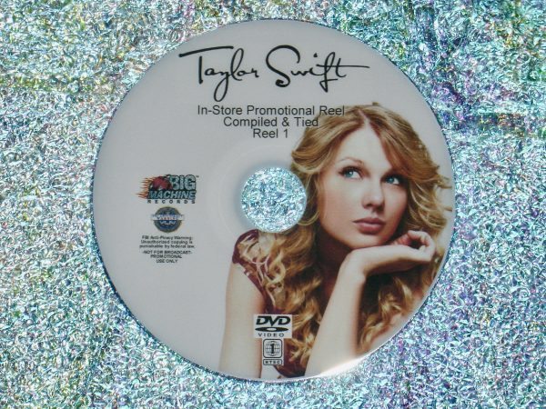 TAYLOR SWIFT In-Store Promotional Music Video Reel 1 of 4 DVD Set