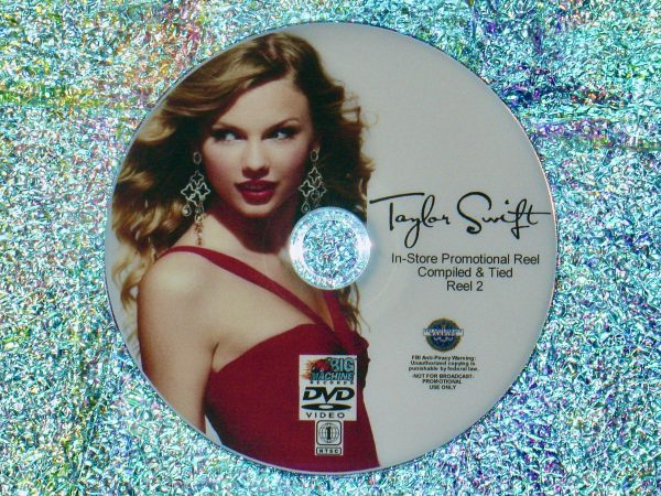 TAYLOR SWIFT In-Store Promotional Music Video Reel 2 of 4 DVD Set