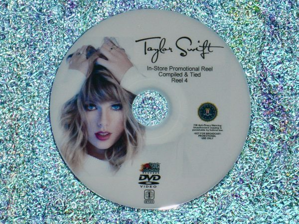TAYLOR SWIFT In-Store Promotional Music Video Reel 4 of 4 DVD Set