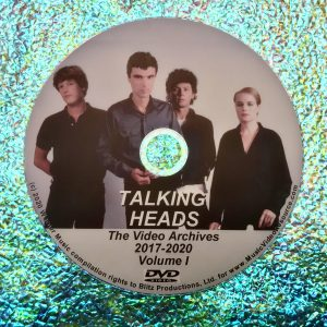 Talking Heads and David Byrne Video Archives 2017-2020 Volume I