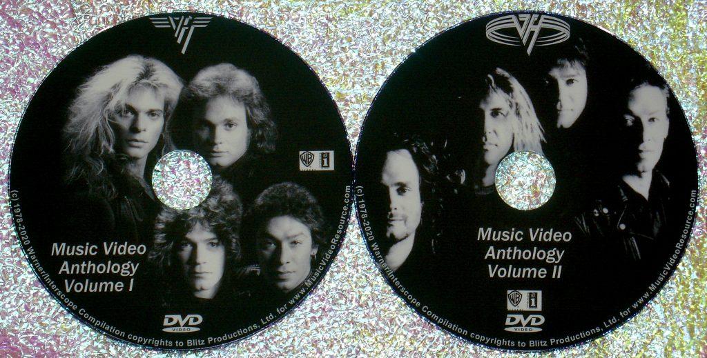 VAN HALEN The Music Video Anthology 1978-2020 2 DVD Set