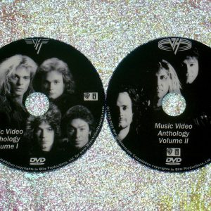 VAN HALEN The Music Video Anthology 1978-2015 2 DVD Set