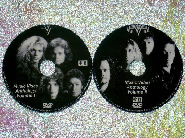 VAN HALEN The Music Video Anthology 1978-2015 2 DVD Set