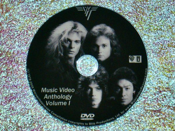 VAN HALEN The Music Video Anthology Volume I