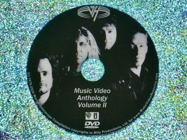 VAN HALEN The Music Video Anthology Volume II