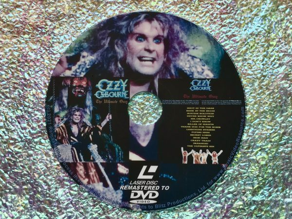 Ozzy Osbourne The Ultimate Ozzy (1986) (Remastered from LaserDisc to DVD) Black Sabbath