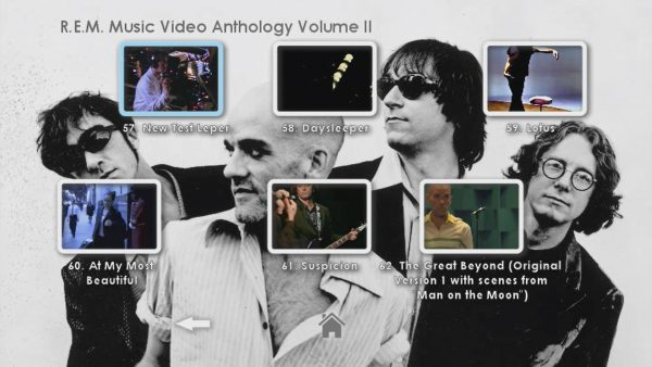 REM Anthology Volume II Menu Page 6
