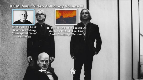 REM Anthology Volume III Menu Page 6