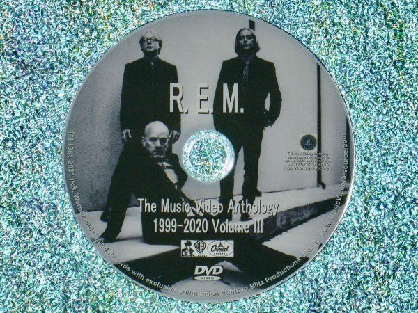 REM Music Video Anthology Volume III of IV.