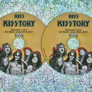KISS in KISSTORY 2 DVD Set 2021 Documentary