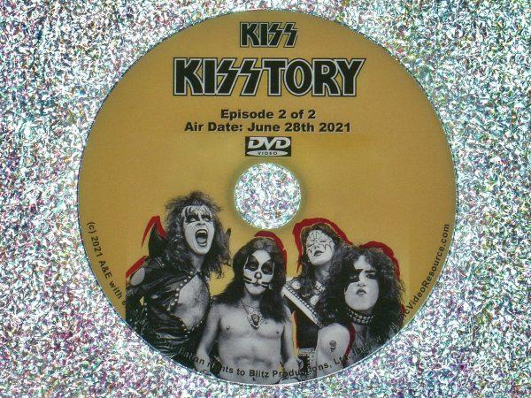 KISS in KISSTORY Episode 1 DVD 2 of 2 2021 Documentary.