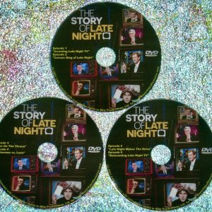 The Story Of Late Night Documentary Series All SIX Episodes (2021) 3 DVD Set