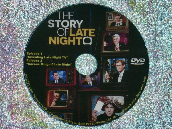 The Story Of Late Night Documentary Series Episodes 1 & 2 DVD 1 of 3