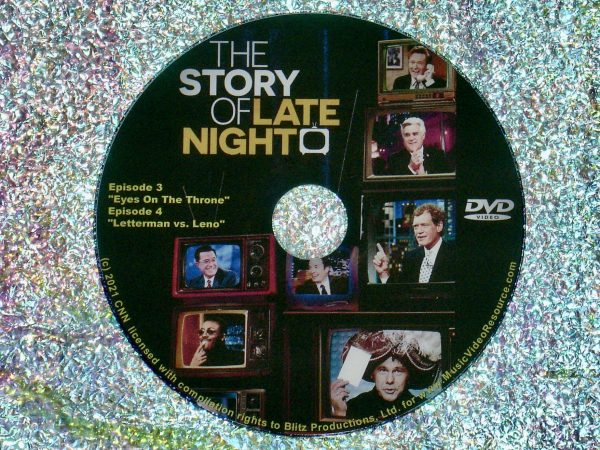 The Story Of Late Night Documentary Series Episodes 3 & 4 DVD 2 of 3