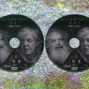 MCCARTNEY 3, 2, 1 2 DVD Set (2021 Documentary Series) Paul The Beatles Wings