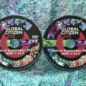 GLOBAL CITIZEN LIVE 5 Hour Broadcast 2 DVD Set