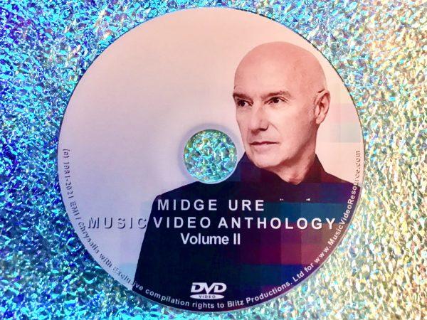 MIDGE URE Music Video Anthology Volume II DVD