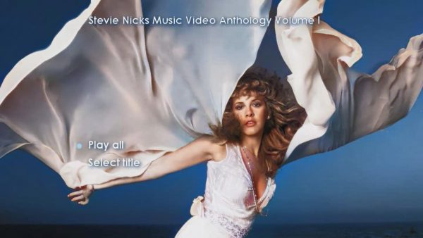 STEVIE NICKS Music Video Anthology Volume I Page 1 of 5