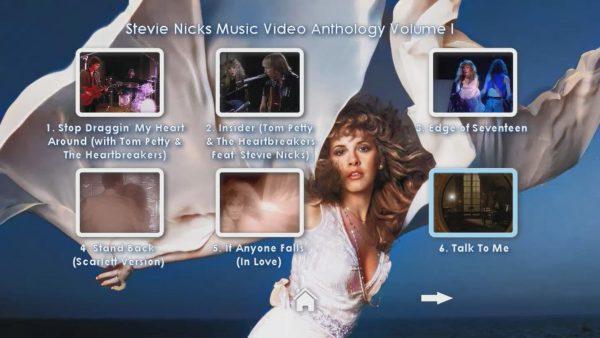 STEVIE NICKS Music Video Anthology Volume I Page 2 of 5