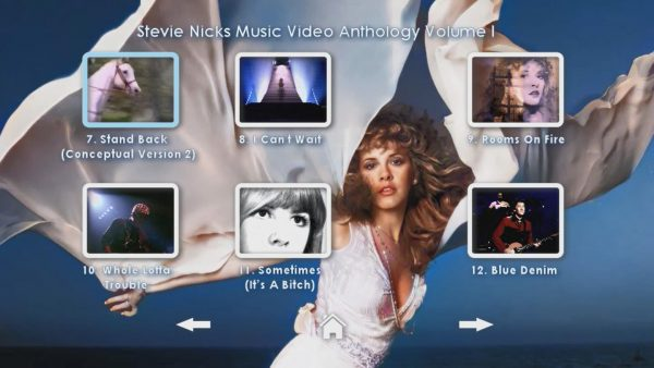 STEVIE NICKS Music Video Anthology Volume I Page 3 of 5