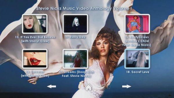 STEVIE NICKS Music Video Anthology Volume I Page 4 of 5