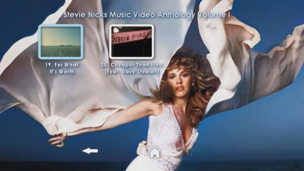 STEVIE NICKS Music Video Anthology Volume I Page 5 of 5