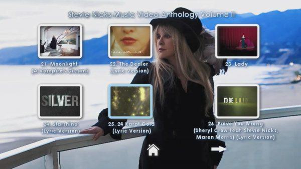 STEVIE NICKS Music Video Anthology Volume II Page 2 of 4