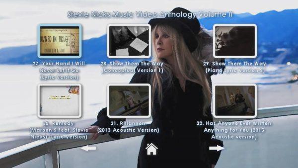 STEVIE NICKS Music Video Anthology Volume II Page 3 of 4