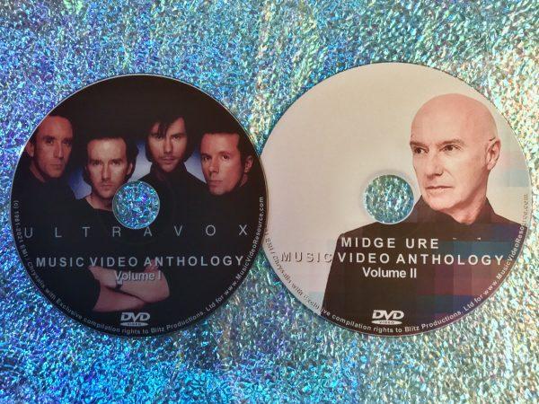 ULTRAVOX & MIDGE URE The Music Video Anthology 2 DVD Set