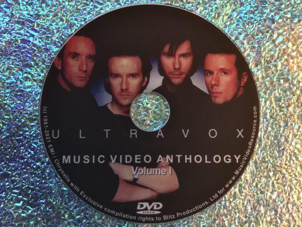 ULTRAVOX Music Video Anthology Volume I DVD