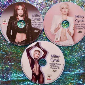 MILEY CYRUS Music Video Anthology 3 DVD Set