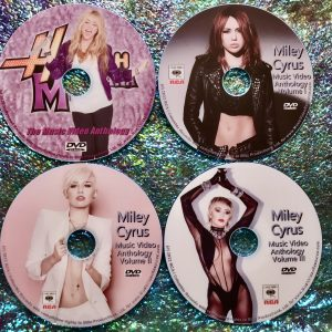 MILEY CYRUS Music Video Anthology DELUXE Edition 4 DVD Set